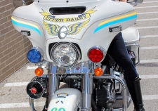 Upper Darby Township Police Motorcycle