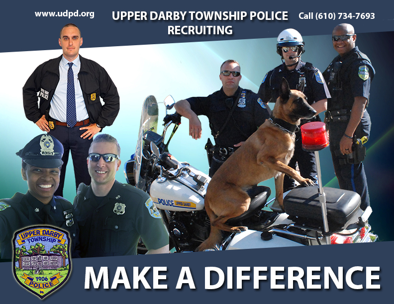Employment | Upper Darby Police Department